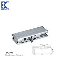 stainless steel glass door patch fittings