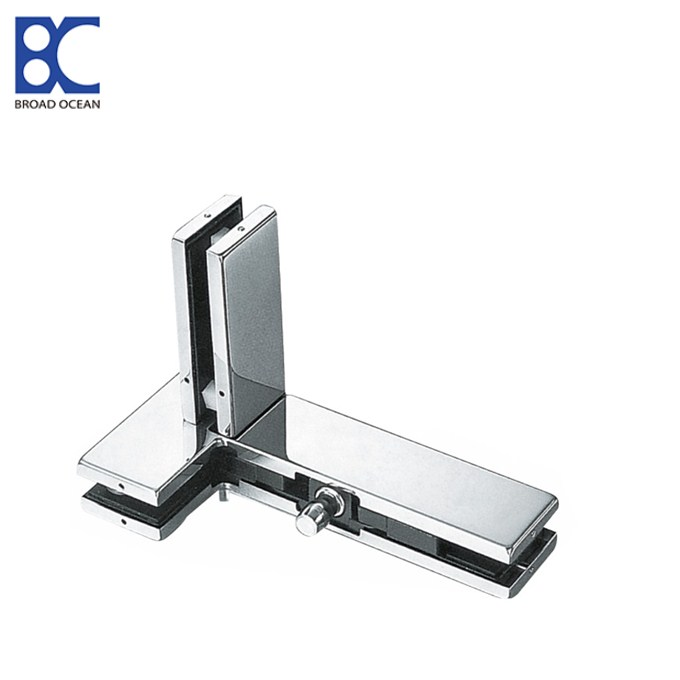 stainless steel wall glass fitting accessories