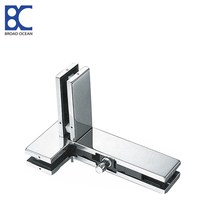 frameless glass door patch fittings