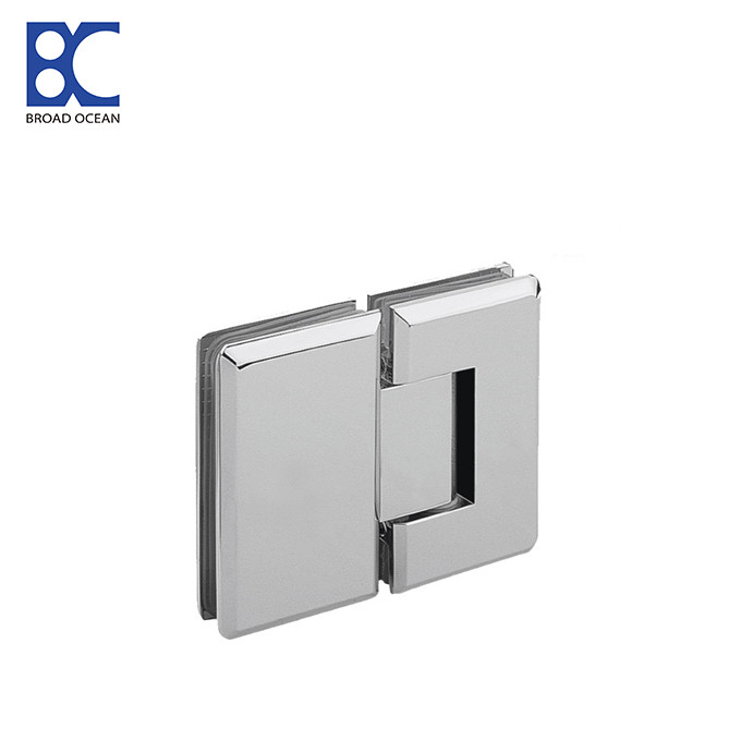180 degree square glass to galss bathroom shower hinge