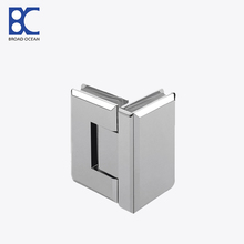 90 degree glass to glass shower door hinge