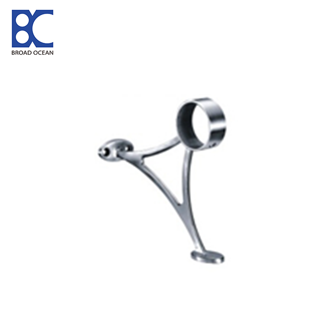 round handrail bracket stainless steel square bracket