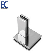 bottom glass door patch fittings