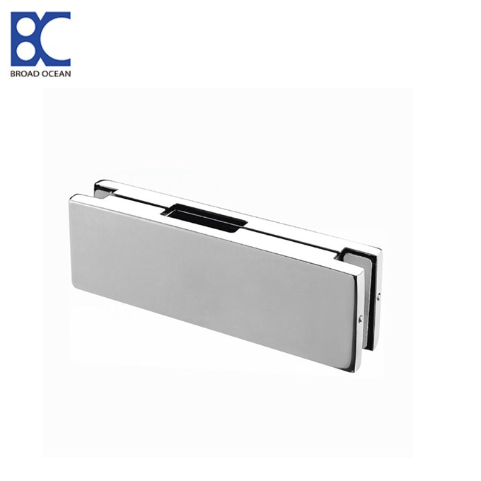 frameless door stainless steel patch fittings