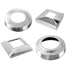 stainless steel cover plate handrail base plate cover decoration cover