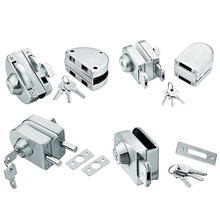 stainless steel glass door lock sliding glass door lock
