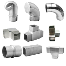 stainless steel pipe elbow handrail elbow fitting