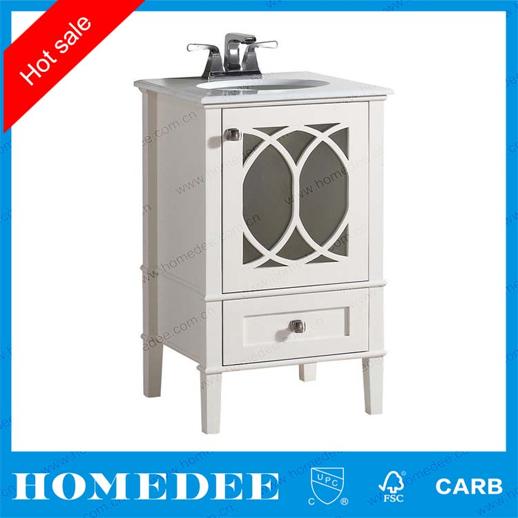 Product Cheap Curved Solid Wood Bathroom Vanity Bathroom Vanity Hotel Style Bathroom Vanity