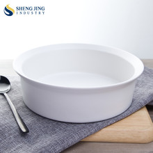 2017 Latest Catering Korean Large Round Ceramic Bowl