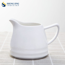 chaozhou factory 80 ml / 160ml / 220ml / 230ml / 250 ml / 260ml sauce white ceramic pot à lait