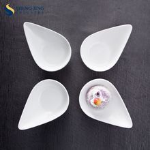 Cheap Western Food Small Fancy Dishes Boat Shaped Snack Plate For Sale