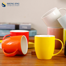 Bone Mugs Colorful 400ml Cup for Coffee Shop and Restaurant