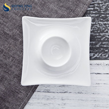 Guangdong Factory Wholesale Chinese Ceramic 4.5inch Egg cup Egg Tray