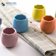 Alibaba 1 PCS Colored Cup Shape Novelty Ceramic Egg Stand Holder
