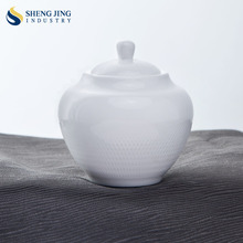 Professional Supplier of Food Grade Ceramic 240ml Custom Sugar bowl