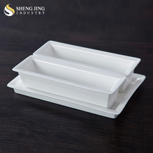 Microwave Oven Safe Bread Rectangle Ceramic Baking Tray