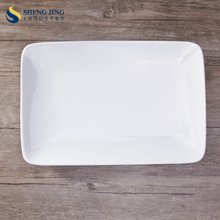 Long shape flat rectangle plate for resale