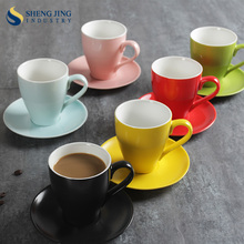 white coffee set