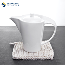 Best Selling Product Hotel Porcelain Dinnerware Teapot Coffee Kettle
