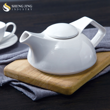 China Supplier Heat Resistant White Tea Pot Ceramic