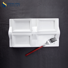 Top Quality Custom Branded Small Plate Food Serving Tray