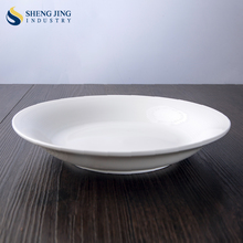Ceramic New Bone China 600ml 9'' deep plates for Western Food