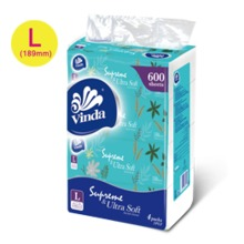 Vinda Soft & Strong 150sheets 2ply Soft Pack Tissue VC2374