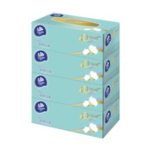 Vinda 4D Deluxe 80sheets 4ply  Box Facial Tissue VC2423(Baby Soft)