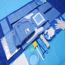 sterile medical kits disposable sterilized surgical intervention kits