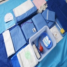 disposable obstetric and gynecological instruments delivery kit