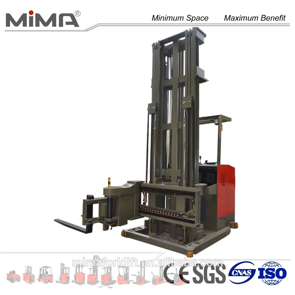 3-Way Pallet Stacker Seated 1.5 Ton | Forklift VNA (Very