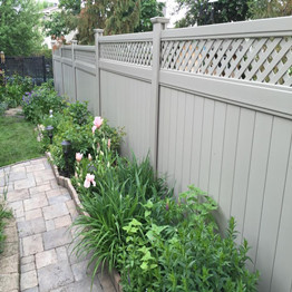 vinyl fence for safety use with easy installation/ it is a  trend to use H post instead of traditional square post