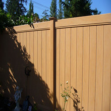 safety pvc fence boards /semi private vinyl fence /white privacy fence