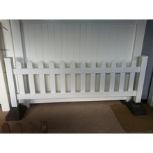 portable pvc fencing /portable picket fencing sale