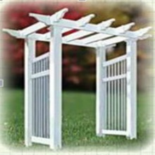 PVC decorative pergola