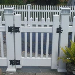 pvc fence gate hardware/stainless latch/lock/hinge