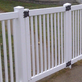 PVC fence 3 ft single gate