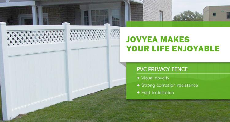 Product Pvc Safety Privacy Plastic Lattice Fences Designs
