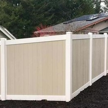 High Strength Elegant PVC Fence