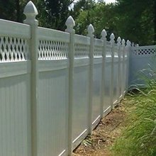 PVC vinyl privacy recycled garden fences