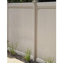 DIY backyard privacy fence