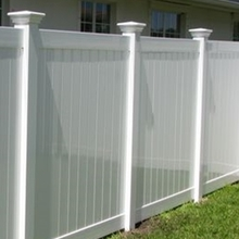 Vinyl high quality fence