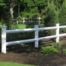 vinyl pvc guardrail fences horse
