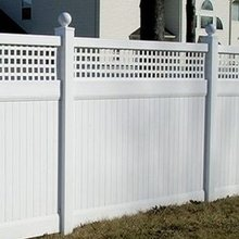100% Vinyl PVC Privacy Fencing Manufacturer in China