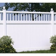 plastic pvc house fence parts