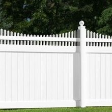 used pvc privacy vinyl fence