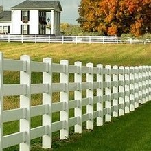 PVC used horse fence gate