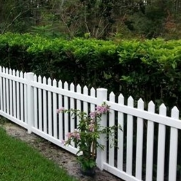 wholesale High quality Safety pvc picket fence/It is suitable for gardens and swimming pools