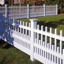 Easily Assembled sale plastic picket front yard fence