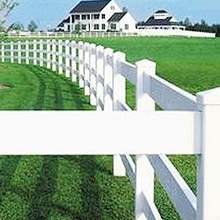 high quality pvc cattle fences